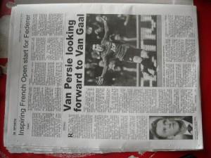 newspaper dutch footbal blogl