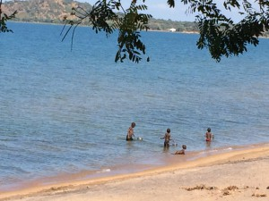 children in lake malawi